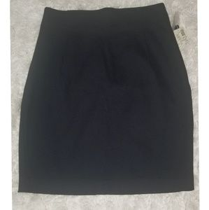 NWT The Limited black career skirt